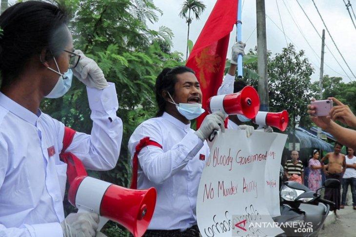 Junta Myanmar hapus pemberontak Rakhine dari daftar teroris