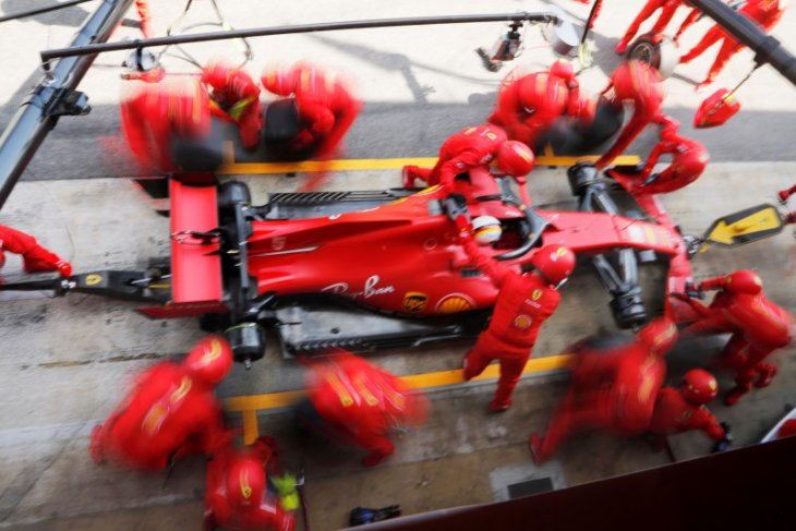 Ferrari awali sesi tes privat di Sirkuit Fiorano