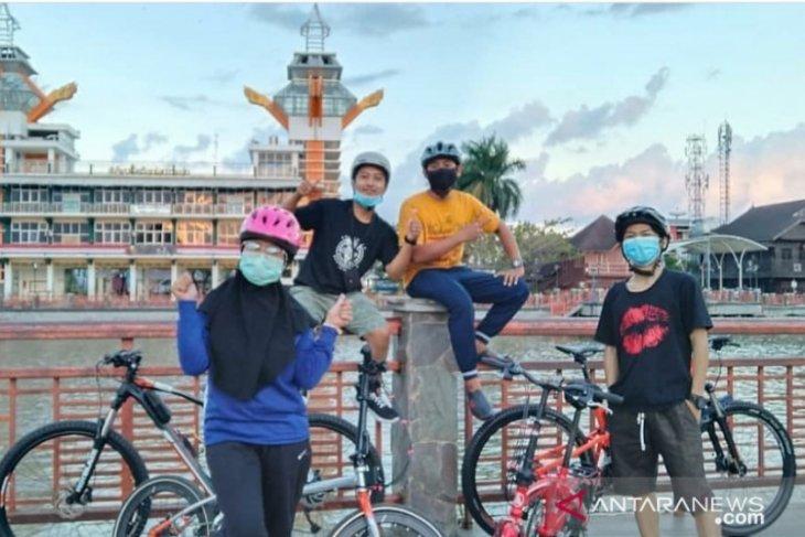Olahraga seperti bersepeda kerap abaikan protokol kesehatan