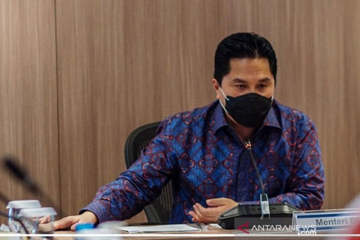 Erick: Pemerintah proaktif sambut PSBB Jakarta