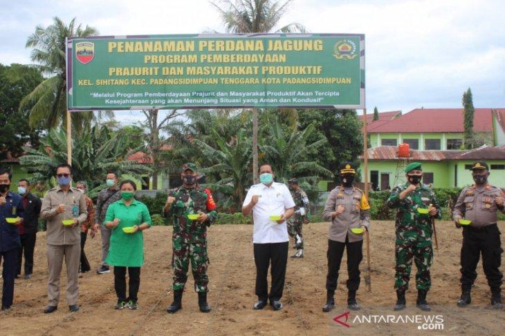 Kodim 0212 dukung ketahanan pangan bersama Pemkot Padangsidimpuan