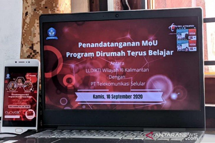 Telkomsel-LLDIKTI XI lakukan MoU layanan paket data perkuliahan online