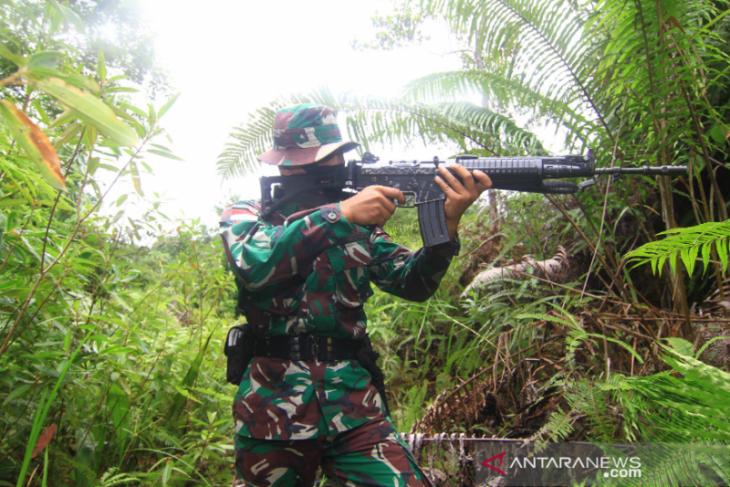 Dansatgas 133/YS sebut ada enam ancaman di perbatasan Indonesia - Malaysia