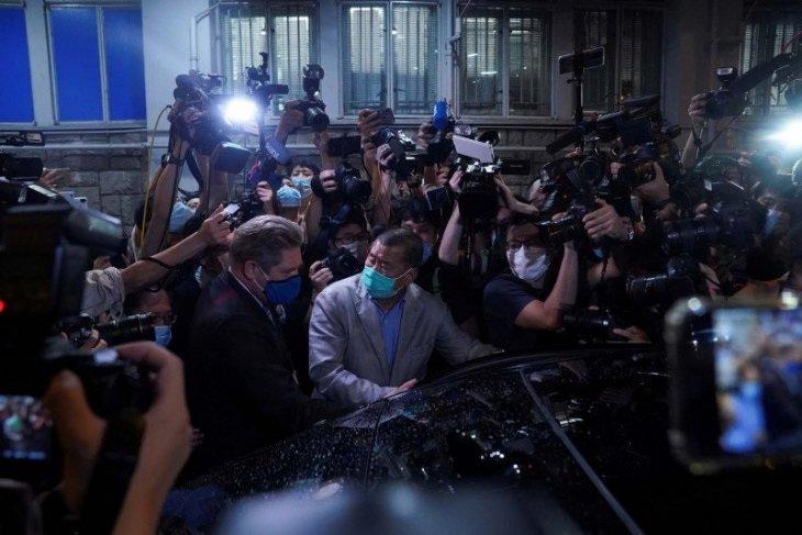 Lima pimpinan media arus utama Hong Kong ditangkap polisi
