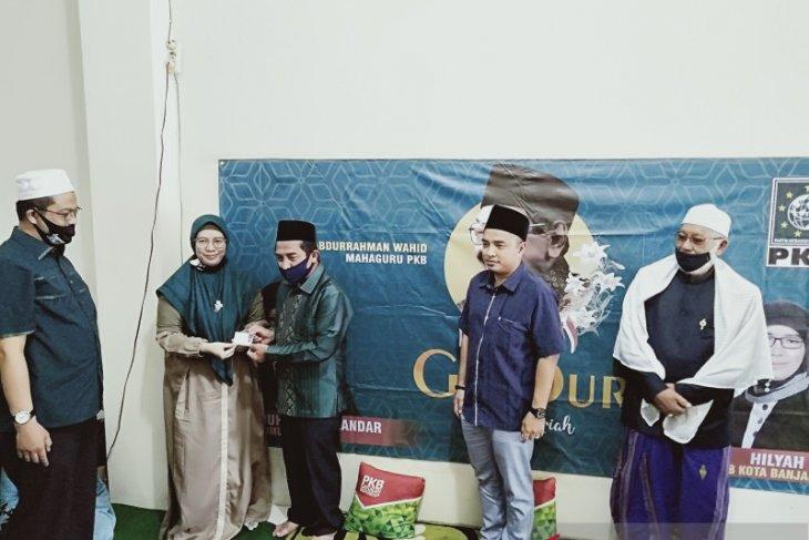 Bacawawali Banjarmasin Arifin Noor resmi jadi kader PKB