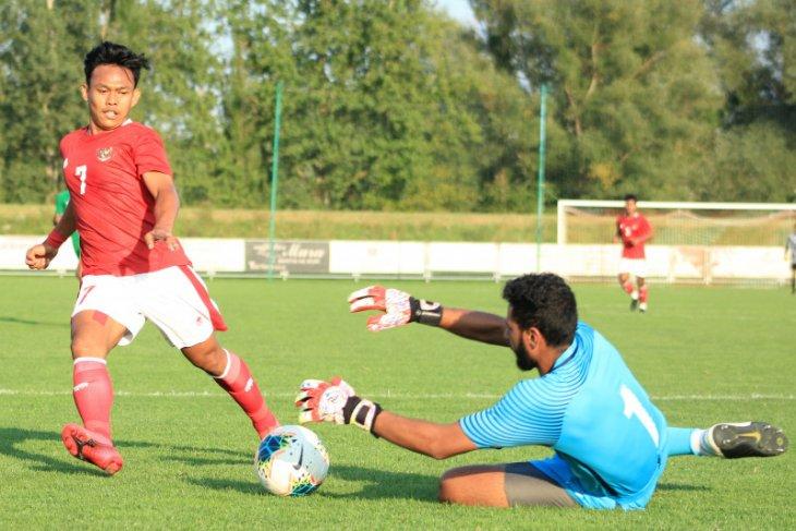 Timnas U-19 koleksi delapan gol dari tujuh kali uji coba di Kroasia