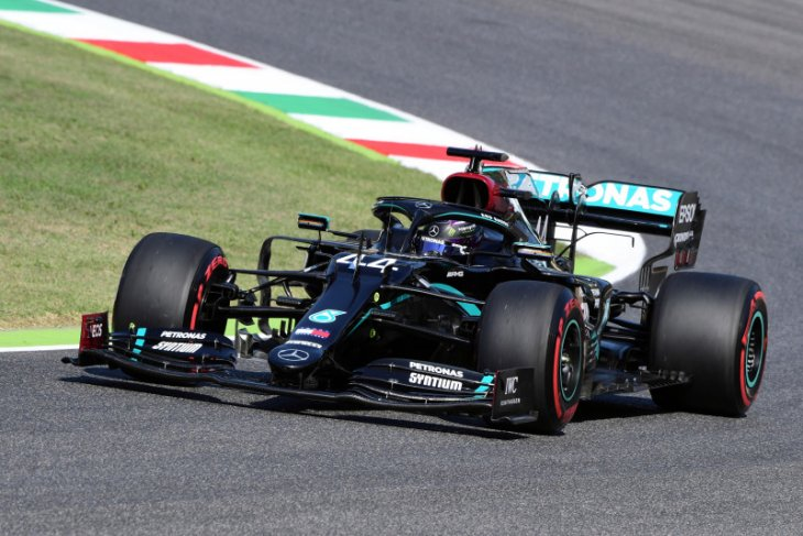 Lewis  Hamilton kalahkan Bottas untuk rebut pole position GP Tuscan