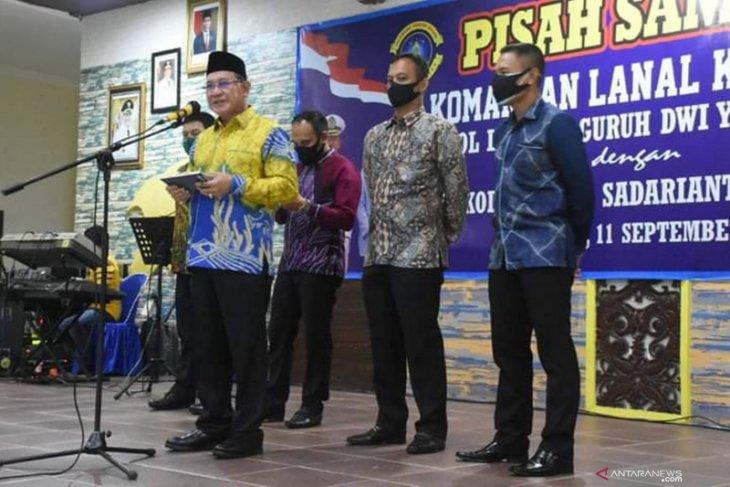 Bupati hadiri pisah sambut Komandan Lanal Kotabaru