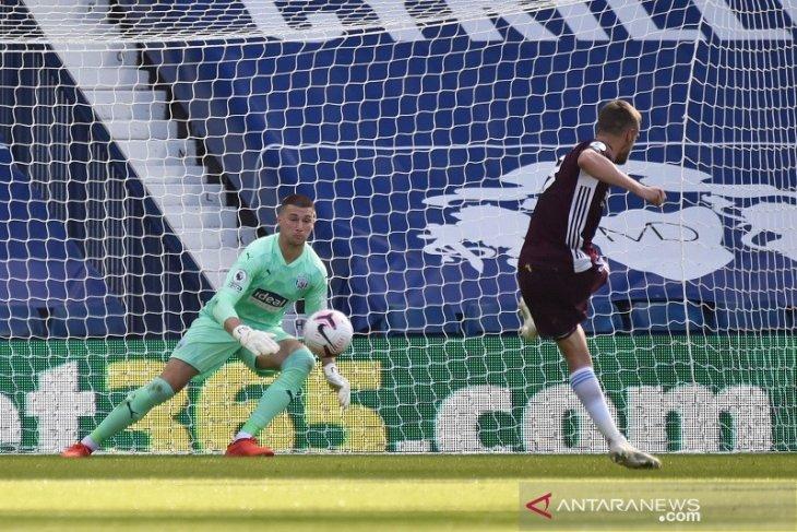 Tiga gol Leicester ke gawang The Baggies  sambut kembalinya West Brom ke Liga Premier