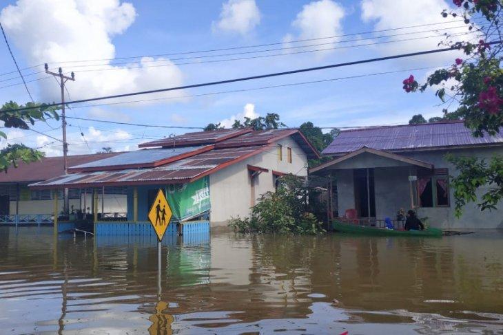BPBD : 100 rumah warga di Kapuas Hulu terendam banjir