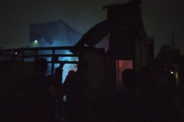 Tujuh rumah musnah terbakar di Perumnas Mandala