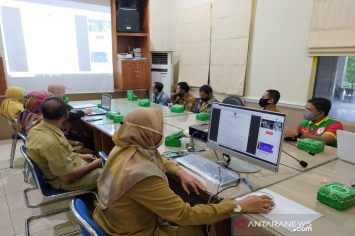 Sejumlah Sekolah di Balangan ikuti Bimbingan Teknis aplikasi Adiwiyata