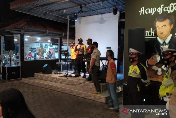 Polres Bangka terjunkan 71 personel polisi awasi penerapan protokol kesehatan