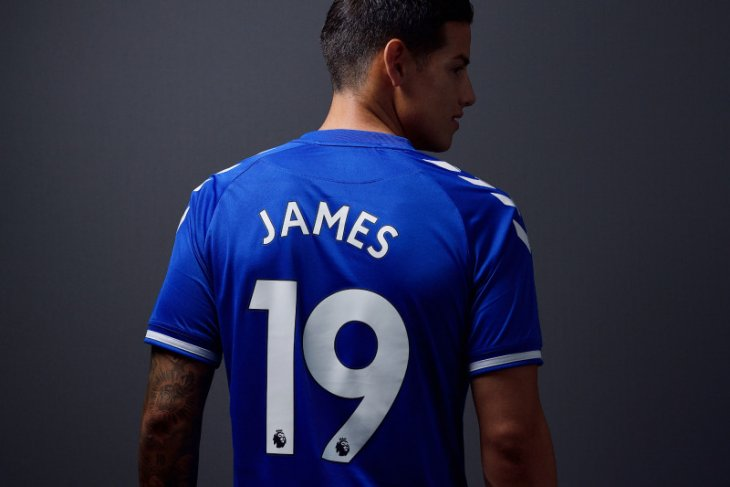 James Rodriguez ingin Everton datangkan pemain