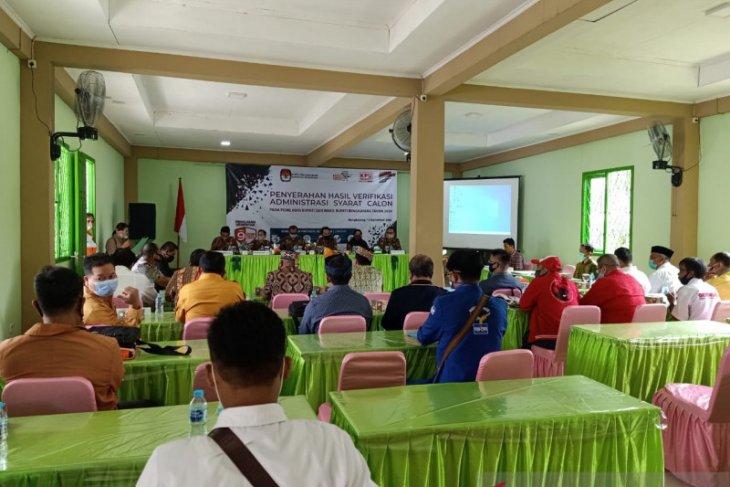 Pilkada Kabupaten Bengkayang, KPU umumkan semua calon penuhi syarat