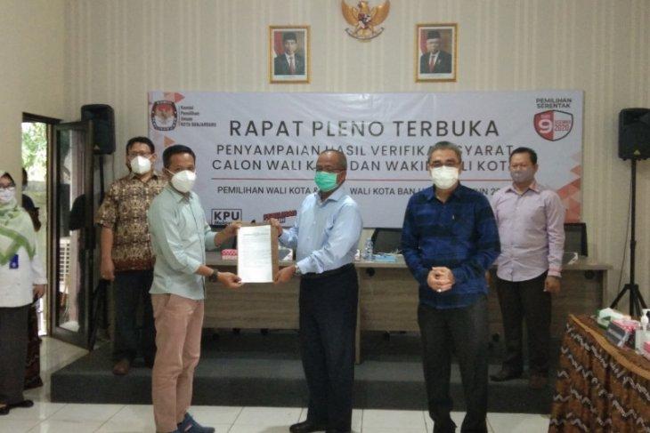Dua Bapaslon wali kota Banjarbaru penuhi syarat