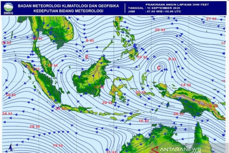 BMKG: Potensi hujan lebat akibat lambat massa udara atmosfer di Aceh