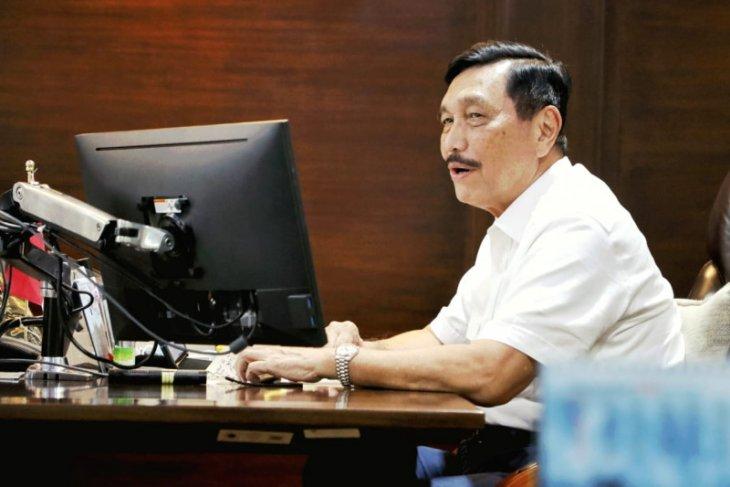 Luhut: Presiden minta fokus COVID di sembilan provinsi, termasuk Bali
