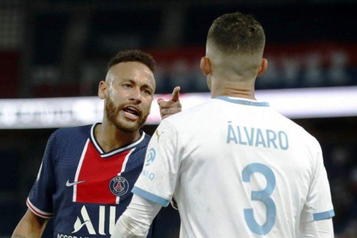 Neymar terancam hukuman tujuh laga terkait insiden lawan Marseille