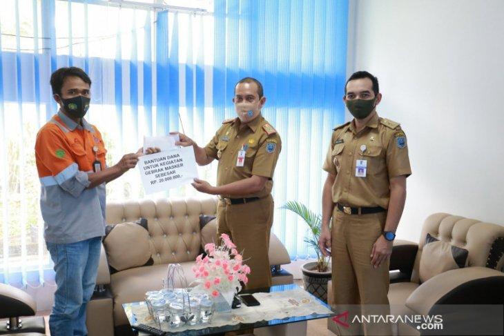 PT Antang Gunung Meratus serahkan donasi masker senilai ribuan buah
