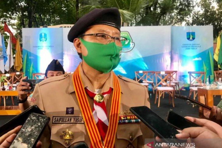 Gus Ipul tak pasang target perolehan suara di Pilkada Kota Pasuruan