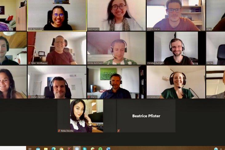Warga Swiss antusias ikuti kelas bahasa Indonesia virtual