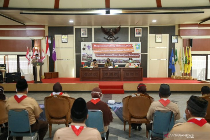 Bupati : Pramuka mitra pemerintah