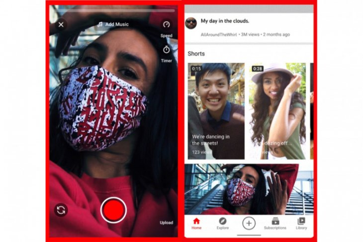 YouTube perkenalkan fitur baru mirip TikTok