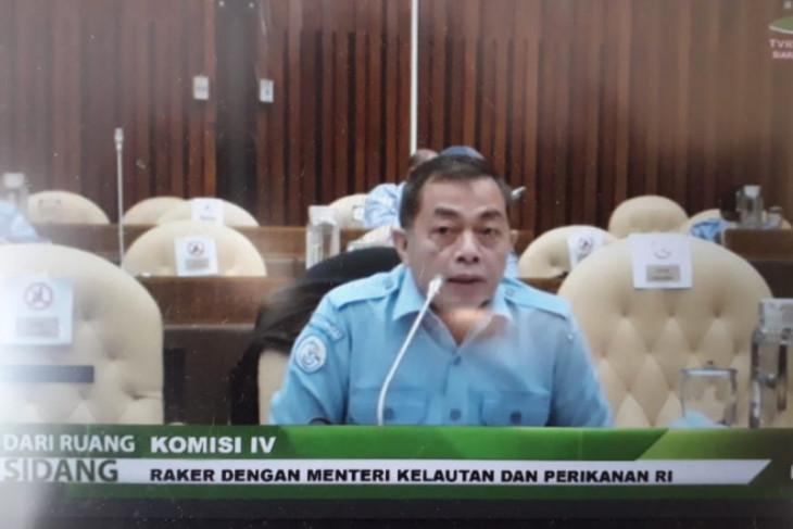 Menteri Kelautan dan Perikanan diwakili Sekjen Raker dengan DPR