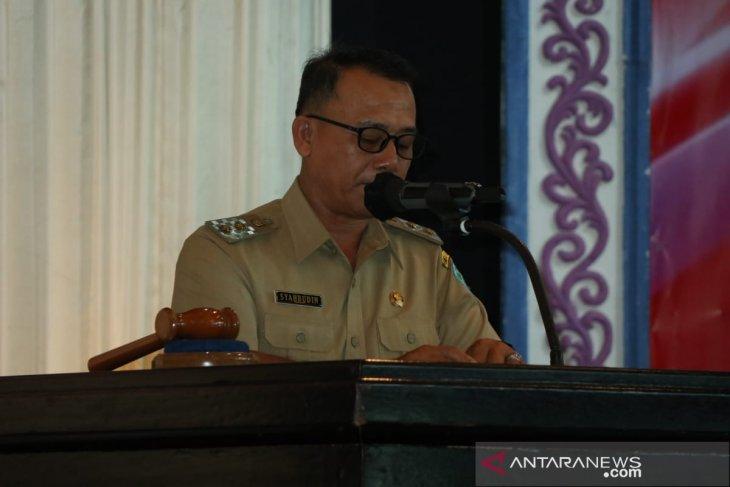 Pemerintah Kabupaten Bangka dorong pemerintah desa tingkatkan kesejahteraan warga
