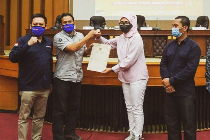 Bakal paslon perseorangan Heri-Gunadi lolos verifikasi Pilkada Malang