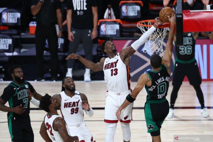 Miami  Heat menangi gim satu final Wilayah Timur NBA melalui over time