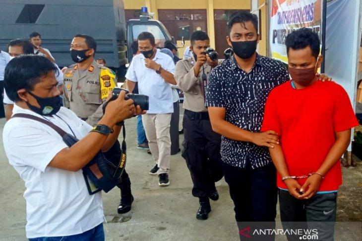 Polisi tangkap seorang penambang emas ilegal di Aceh Barat