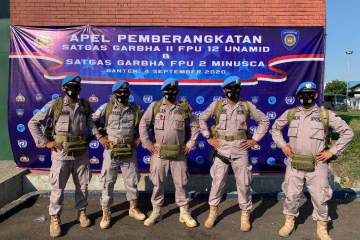 Lima personel Polda Malut masuk Satgas Garuda ke Afrika