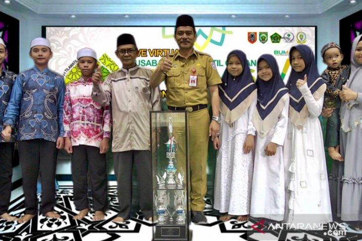 Banjar juara umum MTQ suara emas VI di Kabupaten Balangan