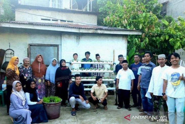 Delapan mahasiswa IPB asal Tapanuli Selatan KKNT di Huta Tunggal