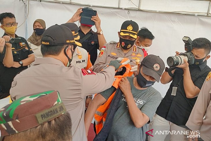 Operasi Yustisi PSBB DKI.  9.734 pelanggar diberi sanksi