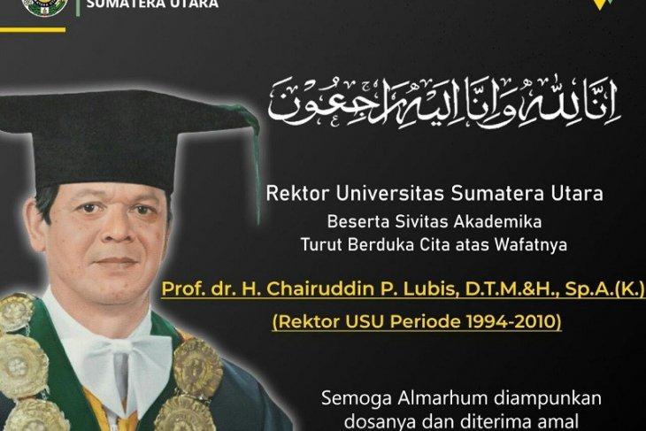 Mantan Rektor USU meninggal dunia
