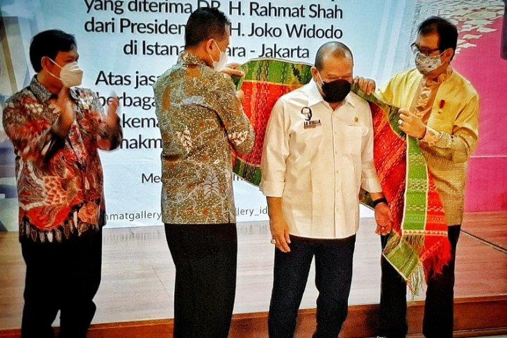 Rahmat Shah sampaikan ucapan terima kasih kepada Ketua DPD RI