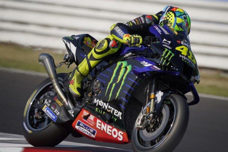 Rossi uji knalpot baru