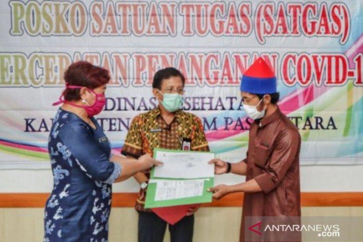 11 pasien positif COVID-19 di Kabupaten Panajam Paser Utara sembuh