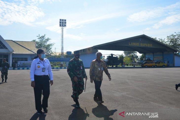 Pangkalan TNI AU Supadio dukung Kanwil Hukum dan HAM Kalbar