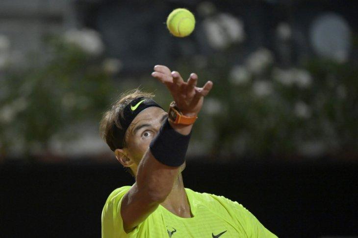 Nadal melaju  menuju babak ketiga Italian Open