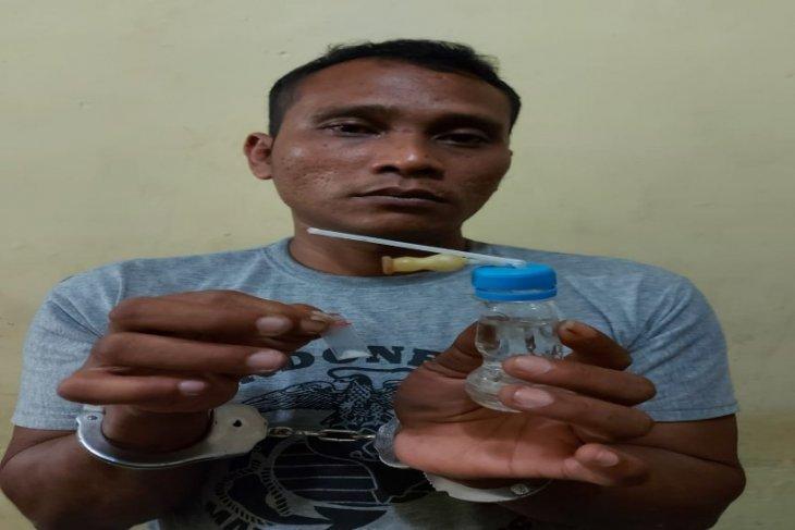 Polsek Selesai tangkap tersangka pemilik narkotika jenis sabu-sabu