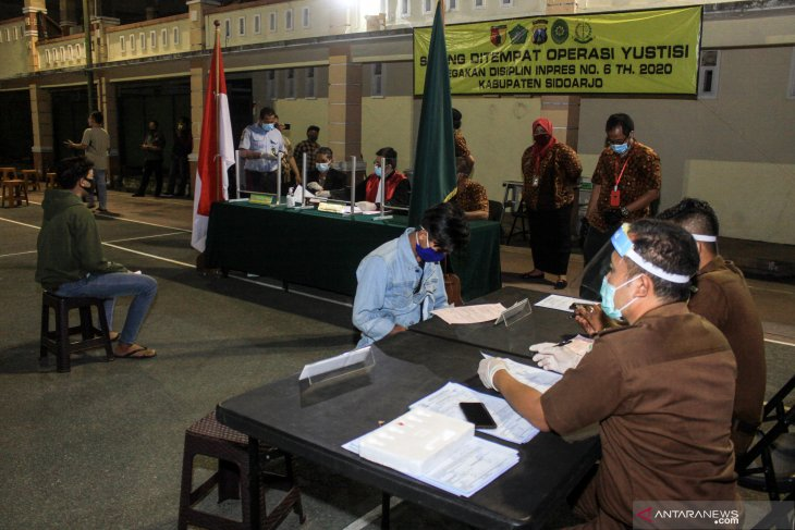 Terjaring Tim Pemburu Pelanggar Protokol Kesehatan