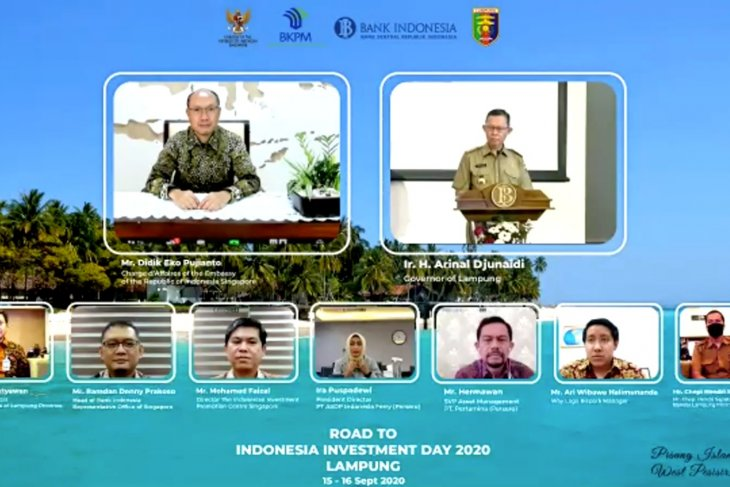 Lampung offers seven investment projects to Singaporean businessmen