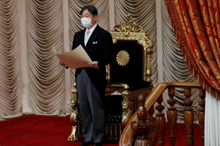 Kaisar Naruhito khawatir Olimpiade Tokyo bisa sebarkan covid