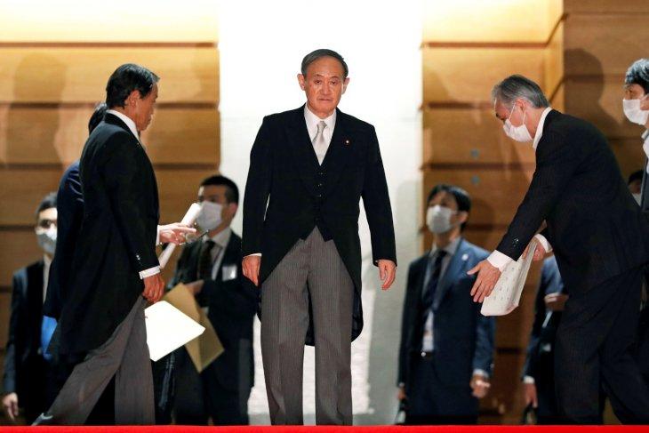 Jajak pendapat  nyatakan dua pertiga publik Jepang dukung PM baru Suga