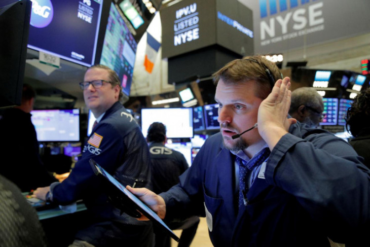 Wall Street dibuka menguat menjelang pengumuman bank sentral AS