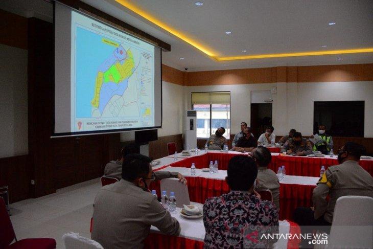 Kapolda Maluku bahas antisipasi gempa-tsunami di gedung mapolda baru